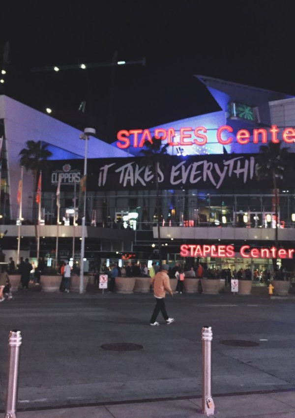 Live from the Staples Center